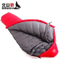 Down sleeping bag ultra-light outdoor thickening down sleeping bag autumn and winter incurred ys007