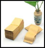 200pcs/lot Samll packaging bags fit tea Kraft paper bags, tea bag packing bag free shipping