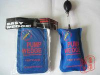 Small Blue Air pump wedge Inflatable Unlock Door car Auto tools 185mm * 115mm