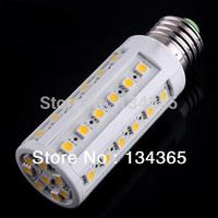 Dimmer Corn Bulb 7W SMD5050 42pcs LED Light Home Bedroom Lamp E27 220V 180 degree Cool/Warm White Aluminum+ Plastic 2pcs/lot