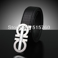 2013 New style!Fashion Shows luxury Belt,Men And Women leather Belts Alligator Pattern,First-class quality Free shipping