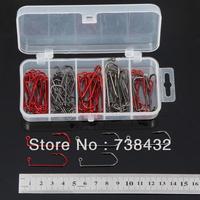 Special barbed hook | fishing hooks | hooks | Fishing hook 2/0 # 3/0 # +Gift Box 80pcs/set free shipping