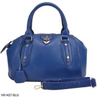 819 Sale 2014 New Women Handbags Top Padlock Detail Handbag 5 Color PU Leather Bowling Bag Fashion Shoulder Bags VK1427