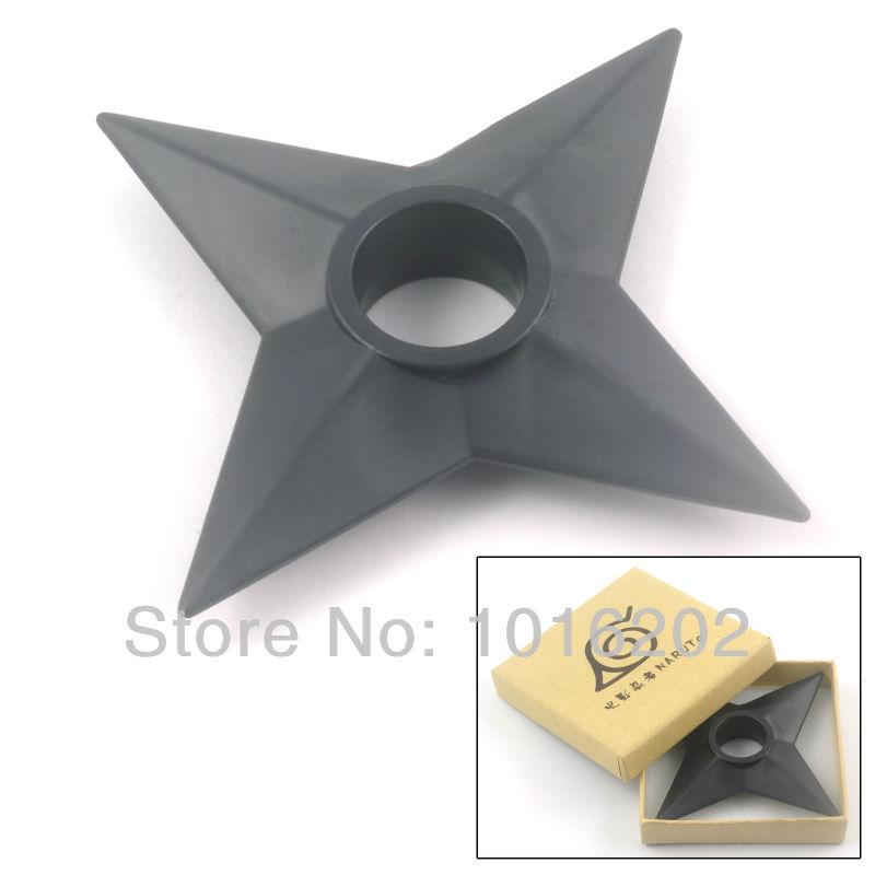 Naruto Plastic Small Shuriken Japanese Cosplay Weapon Props 1:1 Size Free Shipping(China (Mainland))