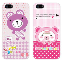 Free shipping/3pcs in one unit with 3 color/hard case for iphone 4/4s