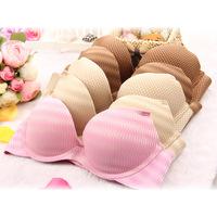 Sexy Diamond Striped VS Seamless Bras 3/4 Cup Push -Up Massage Bra Women Underwear