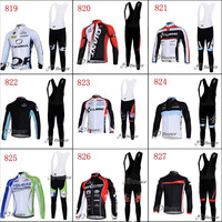 men's sportswear ropa ciclismo Winter Warm Thermal Fleece bike bicycle Cycling Jersey maillot Clothing+Bib pants set