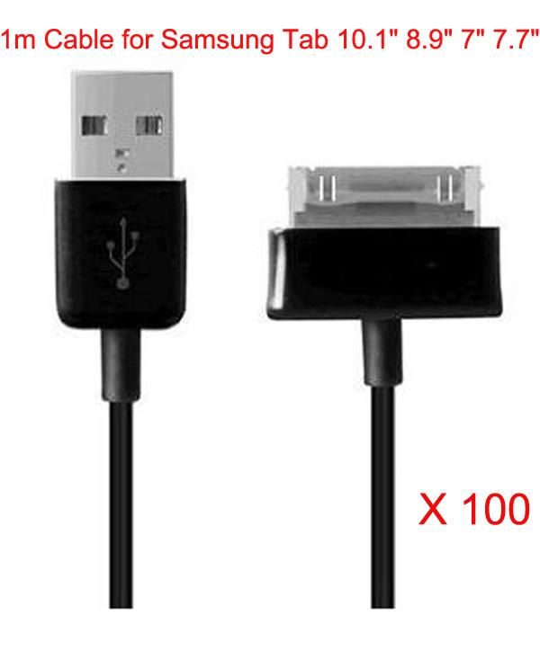 Кабель для передачи данных USB 1m/samsung Galaxy Tab 2 10.1 8,9 7.7 P6800 P1000 P7300 P7500 P6810 100 DHL SACB0089
