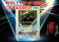 New arrival personal 3d printer single nozzle machine + 1KG ABS filament