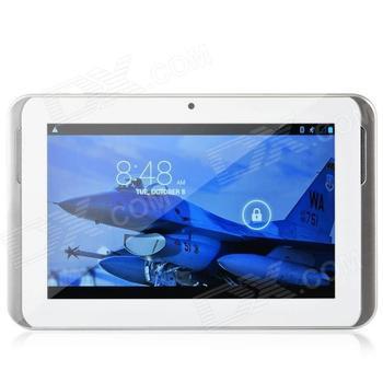 "CY-7805(6572) 7"" Android 4.2 Duad Core Tablet PC w/ 512MB RAM / 4GB ROM / SIM / GPS / WIFI / FM"