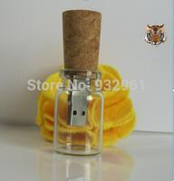 New Arrival drift bottle Wishing bottle gift USB Flash Drive Free Shipping