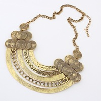 Min.order $10(mix) vintage metal choker necklace 2013 jewerly wholesale fashion layer collar necklaces for women
