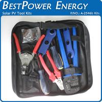 Free Shipping MC4 MC3 Solar Crimping Tools Solar PV Tool Kits Crimper Stripper Cutter
