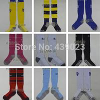 A+++ 14-15 New Chelsea Real Madrid Milan Dortmund Soccer Socks Oscar Mata Ba Football Socks Kits Thailand Quality Thick Bottom