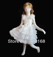 Cupcake Flower Girls Dresses 2013 New For Prom Party Ball Wedding Pageant Princess Gown Children's clothing  kids evening