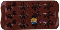 [Super Deals] Dinosaur Baking Silicone Mould Mold Chocolate Cake Cookie Muffin Candy Jelly Hot