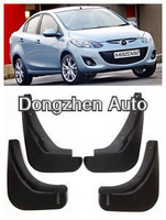 Free shipping Mud Flaps Splash Guard Fender 2010 2013 Mazda 2 Sedan Saloon New