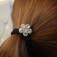 100% Excellent Crystal Flower Hairbands For Valentine's Gift   AF248