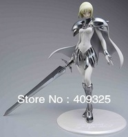 Japana Anime fate Claymore Clare 1/6 PVC Figures dolls 24CM Model Collections Classic toys Free Shipping