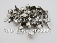 10000PCS/LOT! 12mm Silver Bucket Shaped Purse Feet Rivets Studs Free Shipping Wholesale High Quality