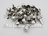 10000PCS/LOT! 12mm Silver Bucket Shaped Purse Feet Rivets Studs Free Shipping Wholesale High Quality