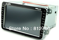 NEW 8inch CAR DVD Player for VW Tiguan/Golf/New Polo/Touran/Bora Auto stereo GPS,IPOD,Radio,RDS,Wifi/3G port, free shipping