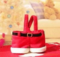 Handbag Candy Pouch Bag Wedding Sack Present Gift Bag Girl Lady Christmas Decoration Cute Santa Lovely Wholesale Wonderful