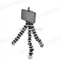 100% GUARANTEE Mini Flexible Tripod Bubble Octopus Stand Gorilla Pod for iPhone 5 4 4s 3 3G Camera / Mini DV