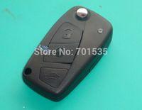 Replacement  FOR  Fiat Punto Stilo Idea Ducato Panda 3 button  flip key case shell black