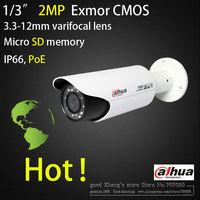DAHUA  ip camera IPC-HFW3200C  2Megapixel Full HD Network (Motorized) IR-Bullet Camera  1080p PoE  2MP  Micro SD card