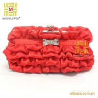 Free shipping shoulder bags Ichiban woman handbag  evening bags Korean bags 169 festive red