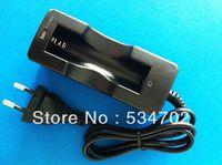 5pcs/lot Single 18650 rechargeable Battery Charger(AC 100~240V/EU Plug)