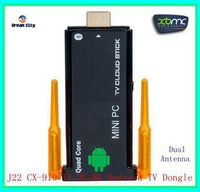 2013 newest U29-4R CX-919 II Quad core android dual antenna TV Box 2GB RAM 8GB ROM Stronger signal Bluetooth tv stick