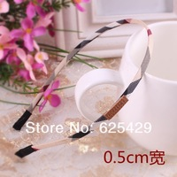 AA12 hair accessories for women girls 2014 Free shipping 0.5cm 1pcs/LOT headband band