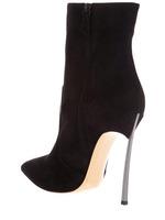 Thin Metal High Heel Black Women Boots Autumn 2014 Brand Boots Women Genuine Leather High Heel Shoes Women Pumps,Hot