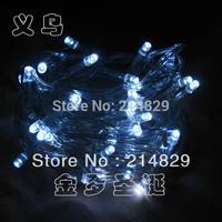 5 metros 40 cabezas blancas LED String luces de Navidad LED para espectaculos de karaoke y moda
