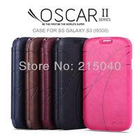 Free Shipping! Original KLD Kalaideng OSCAR II Series Flip Leather Case Cover for Samsung Galaxy S3 i9300 +Retail Box, SAM-136