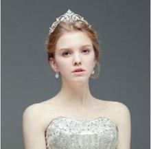 new marriage accessories the bride hair accessories fashion wedding royal tiaras crown de coroa noiva head