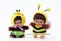 WJ072 Fashion Lovely Plush Stuffed Doll Monkey Toy Monchhichi Varied Model Style 15CM Bag Pendant Supernova Sale Baby Gift
