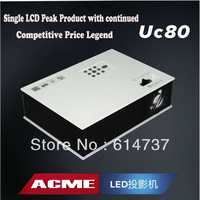 Cheapest !! Free shipping 1500lumens portable led projector 1080P Full HD LED 3D home projector with VGA /TV / USB / HDMI / AV
