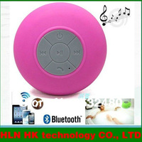 Waterproof four BTS-06 wireless Bluetooth sucker waterproof bathroom mini portable speaker to answer the phone car available