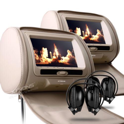 Headrest monitor dvd player