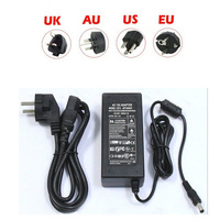 Free shipping 12V power adapter for 5A led strips , led lights power supply