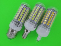 NEW E14 1100  lumens    5050 smd   LED Lamp  220v   blub 360 degree white / warm white