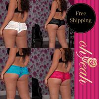 P5011 Free shipping many color  high waist panties  women briefs plus size  sex panties 2014 new open crotch panties