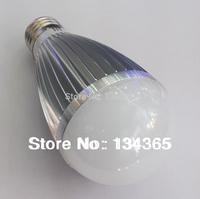 Energy-saving 7W aluminum E27 LED light cool/warm white light super light led bulb AC85-265V SMD5730 LED light/LED spotlight