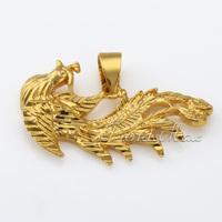 Womens Ladies pendant Cut Phoenix 18K Gold Filled Pendant 18KGF Wholesale Jewelry Fashion Gift Promotion GP35