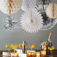 Free shipping 10pcs 10cm  Honeycomb Lantern Wedding / Baby Shower / Birthday Party / Nursery / Festival decoration