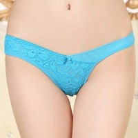 #6612 New 2013 Fashion (6pcs/lot) Women's Panties Three-dimensional Flower Mesh G-String For Women 6 Colors Free Shipping