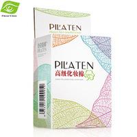 PILATEN Authorized 100 pcs/ Box Super Quality Cotton Pads Comestic Makeup Remover Tools 100% Cotton Material